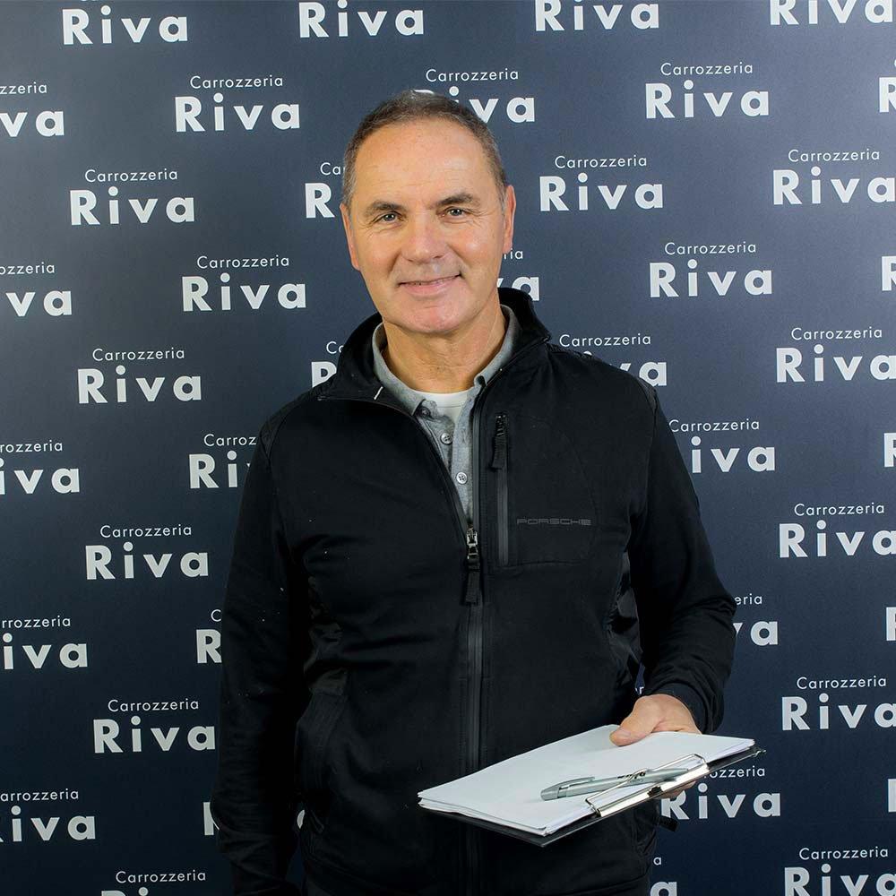 Tiziano Riva - Titolare Carrozzeria Riva